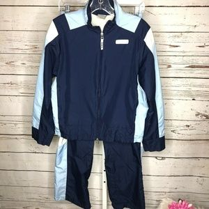 Nike Womens 2 Piece Track Suit Size Small 4-6